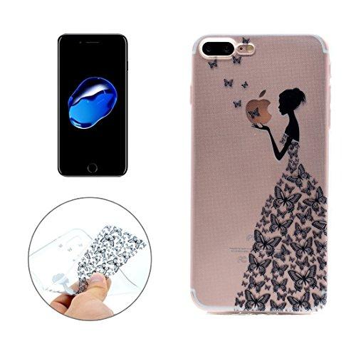 Hülle für iPhone 7 plus , Schutzhülle Für iPhone 7 Plus Dream Catcher Pattern Transparente weiche TPU schützende rückseitige Abdeckungs-Fall ,hülle für iPhone 7 plus , case for iphone 7 plus ( SKU : I IP7P6056L