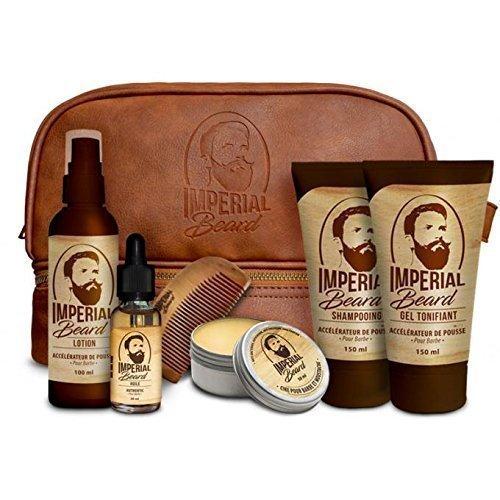 Imperial Beard - Estuche con productos para acelerar el crecimiento de la barba