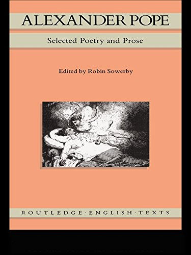 Alexander Pope: Selected Poetry and Prose (Routledge English Texts) (English Edition)