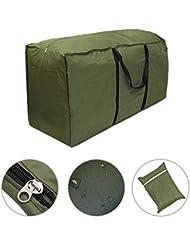 Custodia per cuscini da arredamento esterno, per la conservazione e il trasporto, impermeabile e leggera
