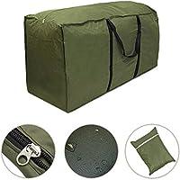 [Patrocinado]Bolsa impermeable y ligera para guardar cojines y otros accesorios para muebles de jardín