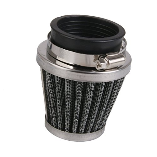Generic 48mm High Flow Air Intake Cone Filter Cleaner Fuel Saver for Motorcycle  available at amazon for Rs.335