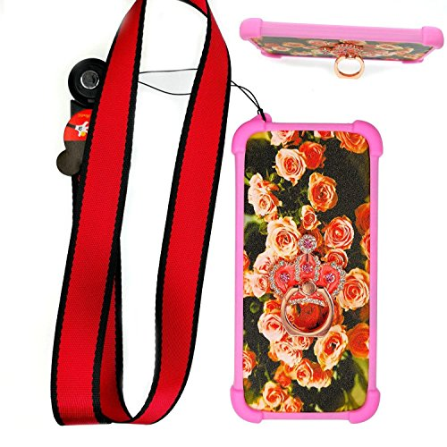 Hülle für Alcatel Onetouch Pop Up hülle Silikon Grenze + PC hart backplane Schutzhülle Case Cover MG