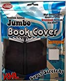It s Academic Premium Edition Super Stretch Book Cover Black - Fits 10 X 15 Textbooks Guaranteed