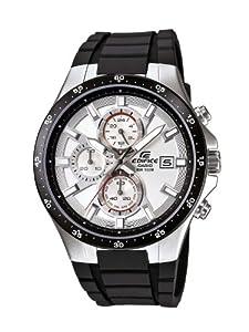 Reloj Casio EFR-519-7AVEF de cuarzo para hombre con correa de resina, color negro de Casio