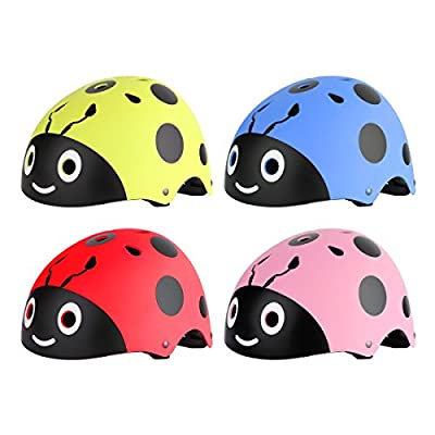 YiZYiF Toddler Kids Childs Childrens Helmet Cartoon Children Helmets for Scooter, Skateboard Bike, Roller-skating Boys / Girls by YiZYiF