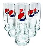 6 Stück Pepsi AXL Gläser 0,30l - geeicht