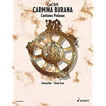 Carmina Burana: Choral Score: Cantiones Profane