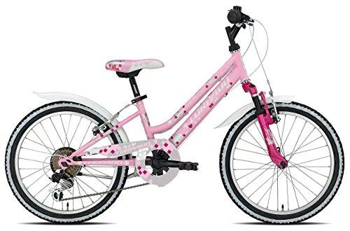 TORPADO Fahrrad 636Maja 20Mädchen 6V Pink (Kinder)