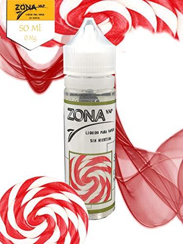 Zona Vap Caramelo Nata-Fresa 50ml E líquido Liquido
