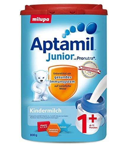 Aptamil Kinder-Milch Junior 1+ ab dem 12. Monat, 4er Pack (4 x 800g)