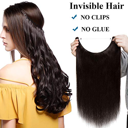 Extensiones Cabello Natural Hilo Invisible Sin Clip