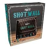 Shot Wall Trinkspiel mit 6 Shotgläsern - Shot-Wall Saufspiel Partyspiel