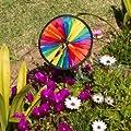 Windspiel - Runner 20 SUN - UV-beständig und wetterfest - Windrad: Ø20cm, Höhe: 58cm - inkl. Fiberglasstab von Colours in Motion bei Du und dein Garten