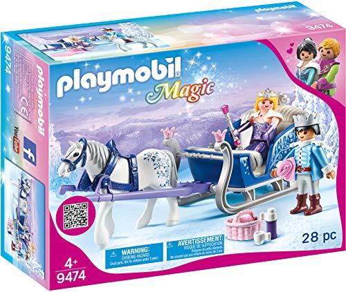 Playmobil 9474 Schlitten mit Königspaar, Unisex-Kinder