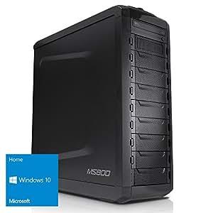 Kiebel [184481] PC mit AMD FX-6300 6x3,5GHz | 8GB DDR3-1600 | 1TB | NVIDIA GeForce GT730 2048MB GDDR3, HDMI + DVI | USB3.0 | DVD | HD-Sound | LAN | 420W | Windows 10