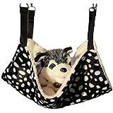 Ylen Sprenkel Haustier Katze Hängematte für Kleine Tier Kaninchen Frettchen Aufhängen Bett Hängebett