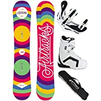 Airtracks Snowboard Set - Tabla One Line Wide (hombre) 151 - Fijaciones Savage - Botas Savage Bl Ql 41 - Sb Bolsa/ Nuevo URMmfn