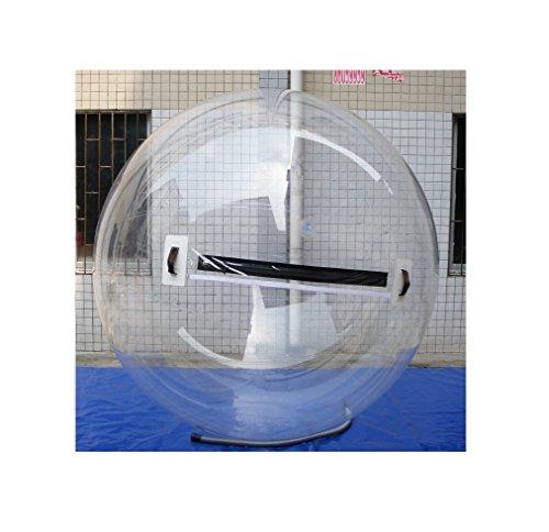 Water Ball 2 o 3 Metros - PVC Tarpaulin y de TPU Poliuretano - Esfera acuática Agua - Hinchable acuático - Water Zorb Ball, Water Games (B - Material TPU 2m)