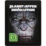 Planet der Affen: Revolution 3D - Exklusiv Lenticular Steelbook Edition inkl. 36 seitigem Collectors Booklet (The Art of the Film) + 2D Blu-ray inkl. Digital Copy - Blu-ray