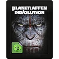 Planet der Affen: Revolution 3D - Exklusiv Lenticular Steelbook Edition inkl. 36 seitigem Collectors Booklet (The Art of the Film) + 2D Blu-ray inkl. Digital Copy - Blu-ray