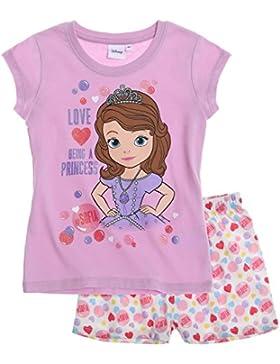 Disney Sofia die Erste Mädchen Shorty-Pyjama 2016 Kollektion - lila
