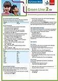 Klett Green Line 2 G9 Klasse 6 - Auf einen Blick: Grammatik passend zum Schulbuch - Harald Weisshaar