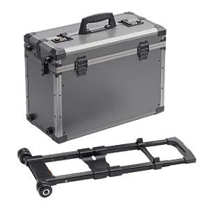 Maja 095210 Caisse à outils trolley aluminium 460 x 220 x 350 mm