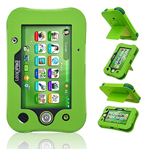 LeapPad Ultimate Case, ACdream Leather Tablet Case for LeapPad ACdream Kids  Learning Tablet(2017 release), Green