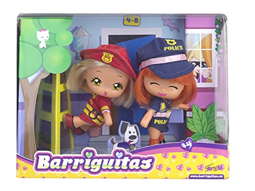 Barriguitas - Figura las chicas al rescate (Famosa 700012700)