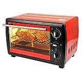 ELECT OEM haushaltsgeräte 20L Multifunktions Elektrische ofen Hause Pizza brotmaschine pizzaofen,Rot,Einheitsgröße
