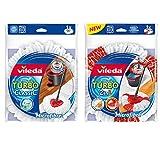 1bague Vileda Turbo easyw & Clean 2en 1Tête de rechange et 1Vileda Turbo easyw Bague & Clean Classic Tête de rechange