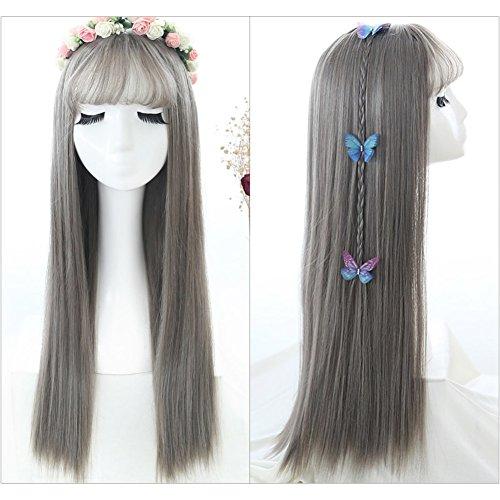 (Air Liu Haiqing neue langes glattes Haar/big Hair/lebensechte Mode Gesicht aus dem Netz-A)
