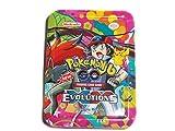 #6: SBS Pokemon Go 6 Evolutions Series Trading Card Metallic Box Pack