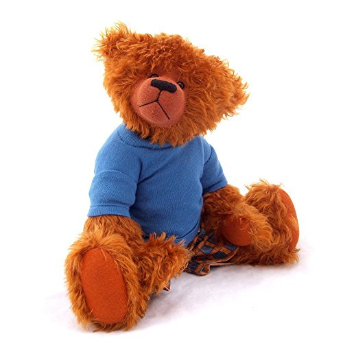murray-teddy-bear-ooak-ginger-mohair-collectable-37cm-by-bearitz