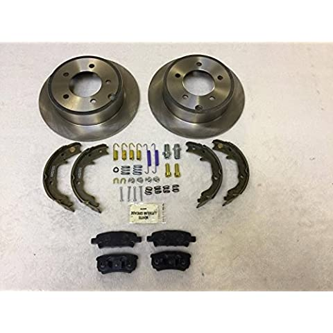 raybestos Carlson NTY LPB freni posteriori e piccole Kit di riparazione jeep Compass Patriot MK 2007–2015262mm dischi