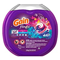 GAIN Gain Flings! Scent Duets Laundry Detergent Pacs Wildflower and Waterfall 54 Count by GAIN