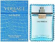 Versace Eau Fraiche Eau De Toilette for Men, 100Ml