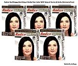 Radico Dark Brown Herbal Hair Color With...