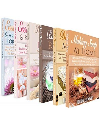 Soapmaking, Body Butter & Essential Oils DIY Collection x 6!: Soapmaking x 2, Body Butter x 2 & Essential Oils x 2 Boxset Bundle: DIY Soap Recipes, DIY ... Beauty Boxsets Book 10) (English Edition) -