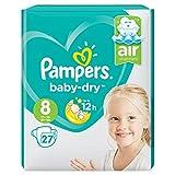Pampers Gr. 8 Baby Dry 27 Stück