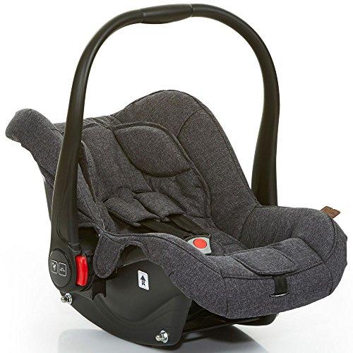 ABC Design 101297702Carseat Hazel Street Kindersitz für Auto, Grau