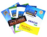 Mind Waves Abacus Education Complete Course Kit with Tool Kit Free(Set Of 5)