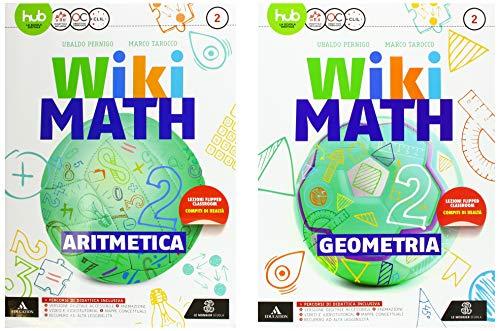 Wiki math. artimetica-geometria. per la scuola media. con e-book. con espansione online: 2