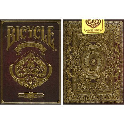 Bicycle Collectors Deck by Elite Playing Cards, Extravagantes Pokerspiel in Top Qualität (Playing Card Deck Box)