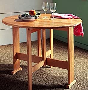 Table ronde pin massif 100cm Meuble House