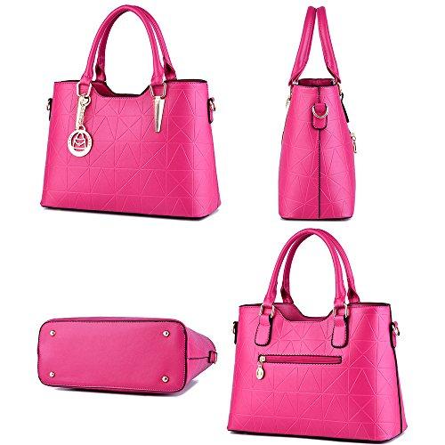 Ruiren Multifunktions Soft Bag Portable Damen Geldbörse Schultertasche Hellblau