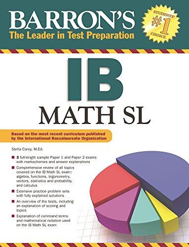 IB Math SL