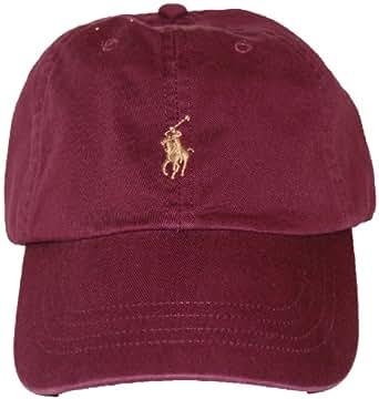ralph lauren casquette de baseball homme rouge bordeaux v tements et accessoires. Black Bedroom Furniture Sets. Home Design Ideas
