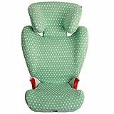 Bezug für Britax Römer Autositz KID II / KIDFIX SL - Ukje - Mintgrün Sterne ♥